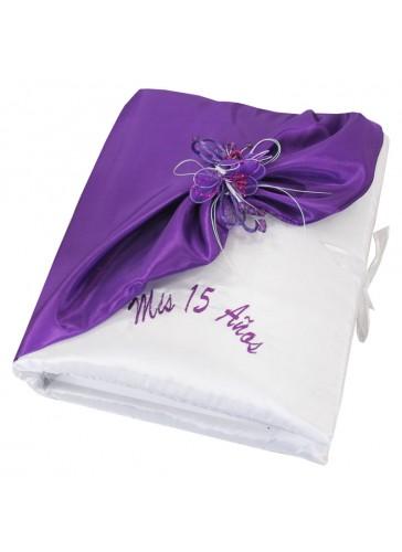 Quinceanera Photo Album Guest Book Kneeling Tiara Pillow Bible Q3098